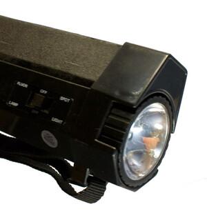 UV-lampa. UVC-UVA